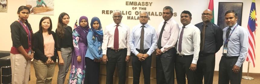 Embassy visit