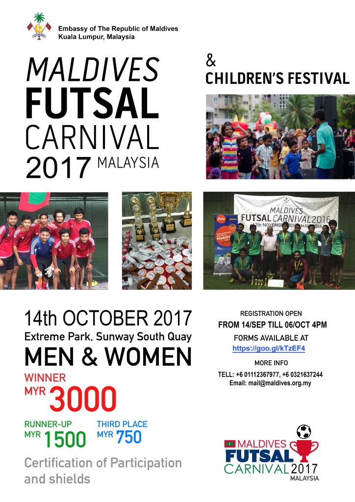 Maldives Futsal Carnival 2017