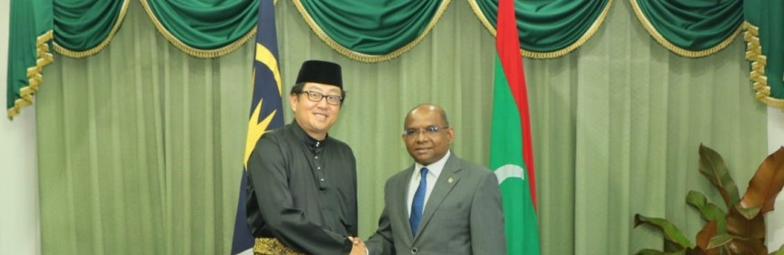 Minister with Malaysian Amb